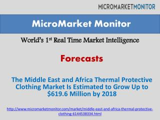 Middle East and Africa Thermal Protective Clothing Market