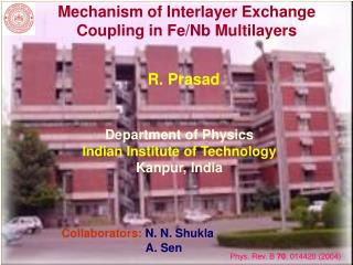 Mechanism of Interlayer Exchange Coupling in Fe