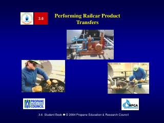 Performing Railcar Product Transfers