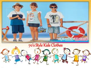 70's style kids clothes
