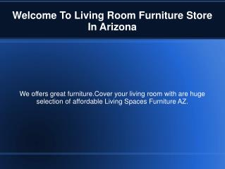 Find Perfect Furniture Store in Arizona
