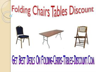 Get Best Deals On Folding-Chairs-Tables-Discount.Com