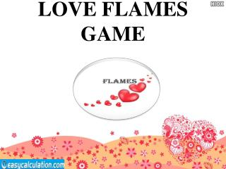 Love FLAMES Game