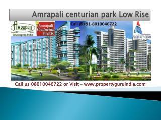 Amrapali Centurian Park Low Rise Noida Extension 2,3 bhk