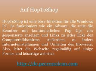 Entfernen HopToShop