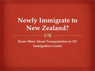 Know More About Immigration in New Zealand