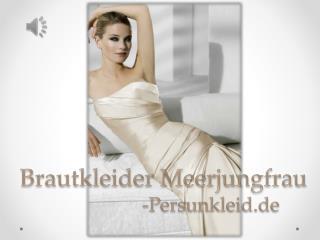 Schöne Meerjungfrau Brautkleider 2015 Online