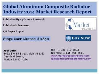Global Aluminum Composite Radiator Industry 2014 Market Rese