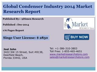 Global Condenser Industry 2014 Market Research Report