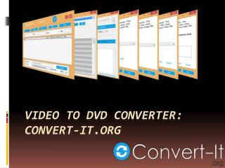 Video to DVD Converter Convert-it.org