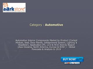 Automotive Interior Components
