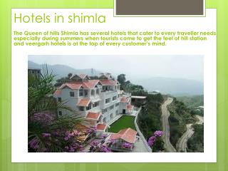 Resort In Shimla