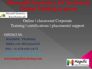 Microsoft Dynamics Ax Technical Online Training in Pune