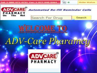 Canadian Online Pharmacy Prescription Drugs