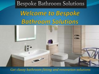 Bathroom Fitter in Sheffield - Bespoke Bathroom Solutions