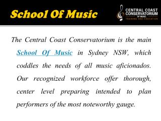 Learning Center for Childhood Music Education in Australia
