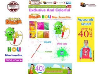 Chhota Bheem Holi Celebration's | Green Gold Store