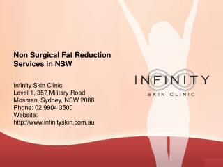Non Surgical Fat Reduction Services in NSW