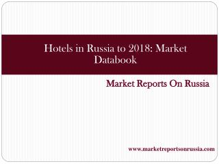 Hotels in Russia to 2018: Market Databook