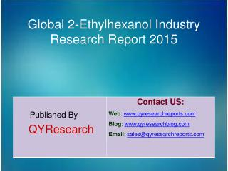 Global 2,3-Pyridine Carboxylic Acid Industry 2015 Market R