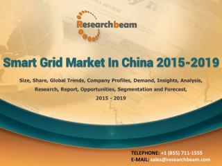 Smart Grid Market in China 2015-2019