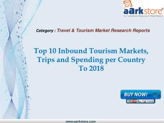 Aarkstore - Top 10 Inbound Tourism Markets, Trips and Spendi