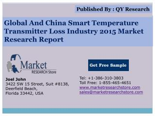 Global And China Smart Temperature Transmitter Loss Industry