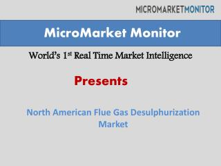 North America Flue Gas Desulphurization Market