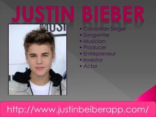 Justin Beiber App
