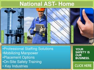 National AST offers professional staffing solutions, certifi
