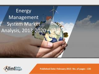 Energy Management Systems Market Forecast, 2013-2020