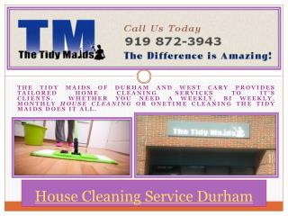 Best House Cleaning Service In Durham