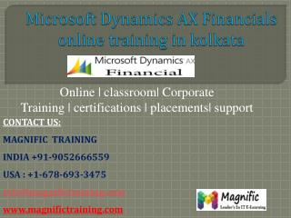 msdynamics ax financials online training in kolkata