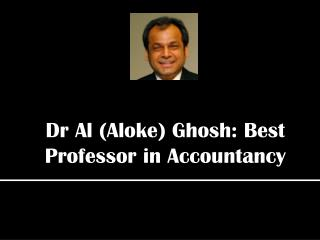 Aloke Ghosh