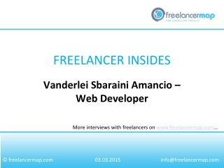 Vanderlei Sbaraini Amancio – Web Developer