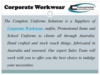 Wholesale Uniforms Supplier for Australian Schools