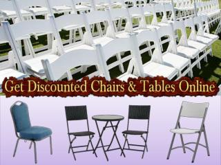 Get Discounted Chairs & Tables Online