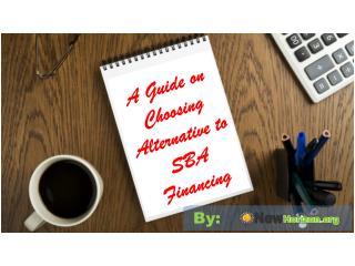 A Guide on Choosing Alternative to SBA Financing