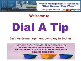 Rubbish Bin Hire