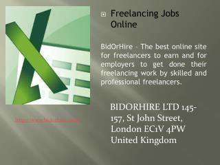 Find Professional Freelancers