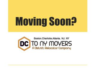 New york City Moving Service Area