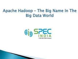 Apache Hadoop – The Big Name In The Big Data World