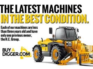 New and used JCB or digger for sale