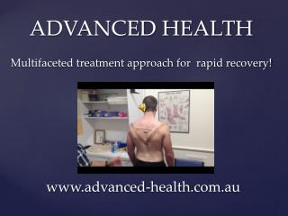 Advanced Health - Chiropractor in Melbourne