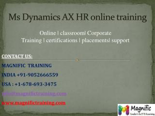 ms dynamics ax hr online training in canada