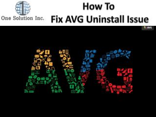 How to Fix AVG Uninstall Issues
