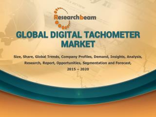 Global Digital Tachometer Industry 2015 Market Research