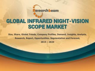 Infrared Night-Vision Scope Industry Market 2015