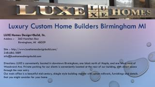 custom home builders bloomfield hills mi