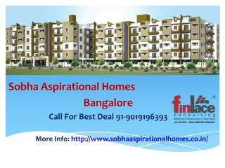 Sobha Aspirational Homes Prelaunch, Balagere Bangalore